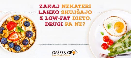 Zakaj nekateri shujšajo, drugi pa ne?