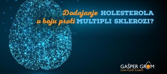 Holesterol proti multipli sklerozi