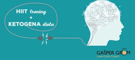 HIIT trening in ketogena dieta