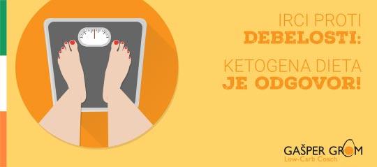 Ketogena dieta proti debelosti