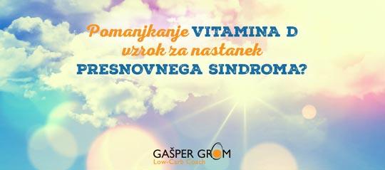 Presnovni sindrom in vitamin D