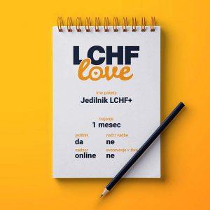 LCHF svetovanje jedilnik LCHF PLUS