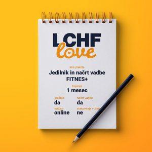 LCHF svetovanje jedilnik in načrt vadbe FITNES PLUS