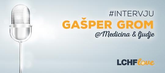 Intervju Gašper Grom Medicina in ljudje