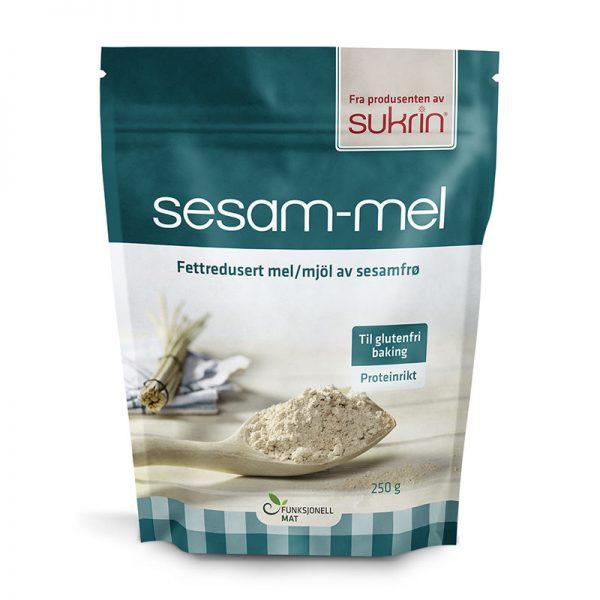 Sukrin razmaščena sezamova moka