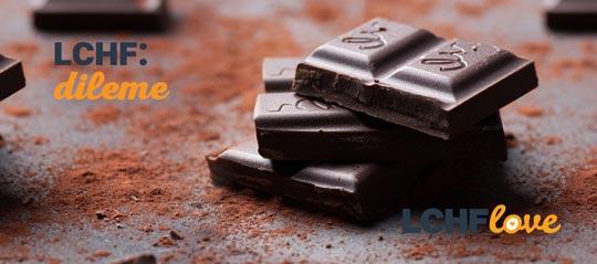 LCHF dileme čokolada