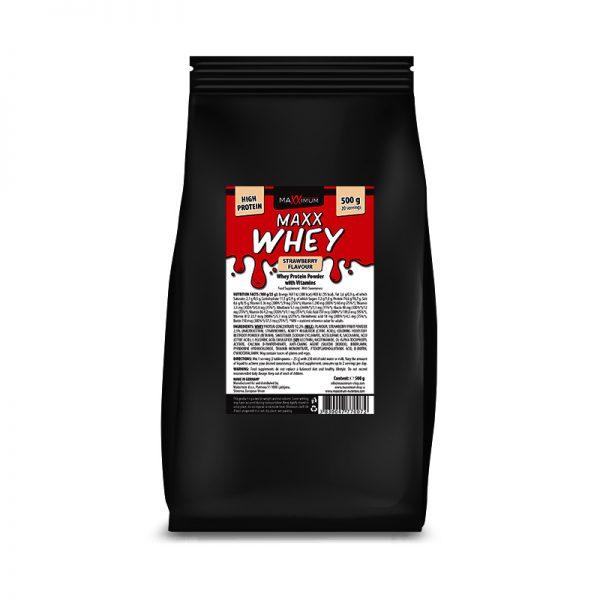 Maxx Whey 500 g - okus jagode, Maxximum Nutrition