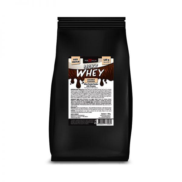 Maxx Whey 500 g - okus kokos, Maxximum Nutrition