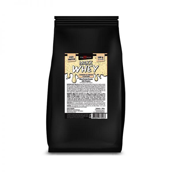 Maxx Whey 500 g - okus piškotek, Maxximum Nutrition