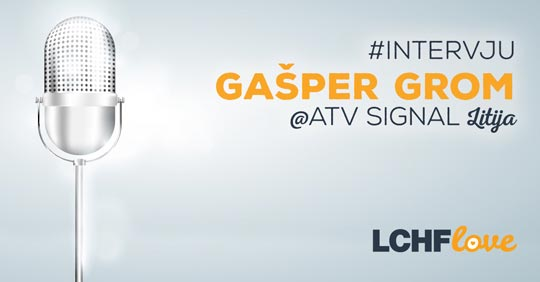 Intervju Gašper Grom - ATV Signal