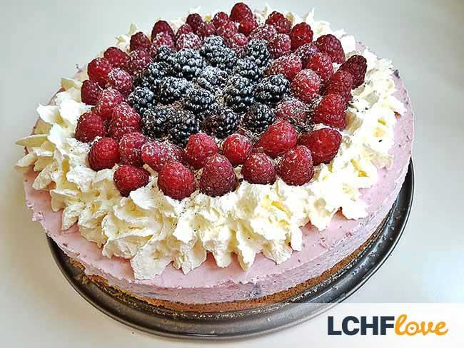 Torta malina