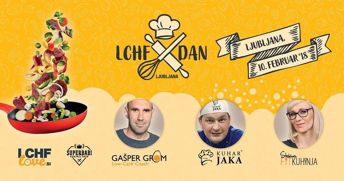 LCHF dan v Ljubljani