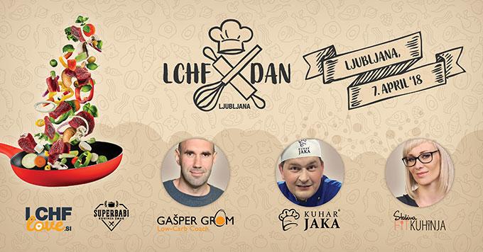 LCHF-dan v Ljubljani drugič: 7. aprila 2018