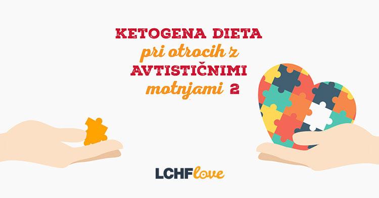 Ketogena dieta in avtizem pri otrocih