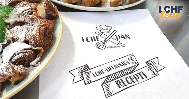 LCHF delavnica recepti