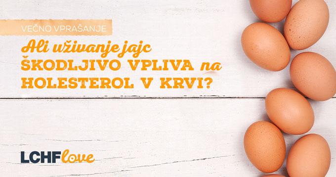 Jajca in holesterol