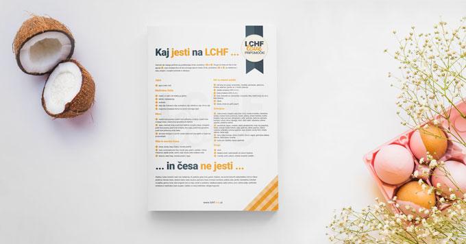 Brezplačen seznam: LCHF-živila