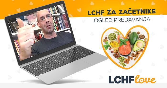 Ogled predavanja LCHF za začetnike