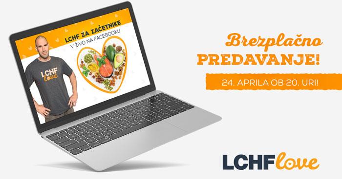 Brezplačno online predavanje LCHF za začetnike
