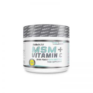 BiotechUsa MSM Vitamin C