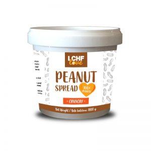 LCHFlove Crunchy Peanut Spread 1 Kg (hrustljavi)