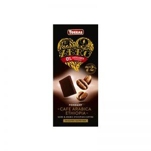 Torras temna čokolada s sladilom in kavo 100 g