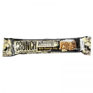 Warrior Crunch Bar 64 g - bela čokolada