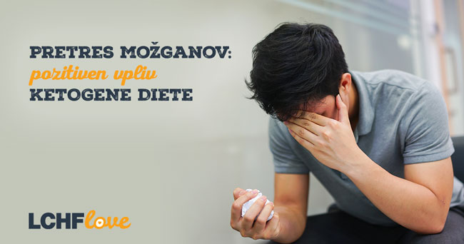 Pretres možganov: pozitiven vpliv ketogene diete