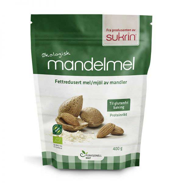 Sukrin razmaščena mandljeva moka