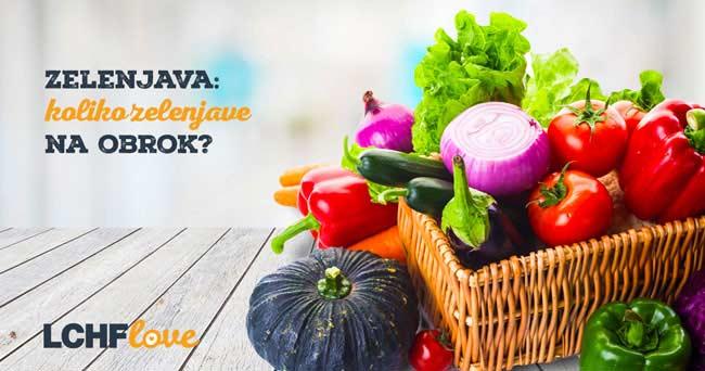 Koliko zelenjave na obrok?