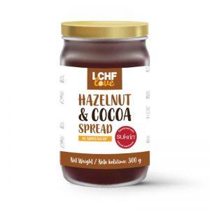 LCHFlove lešnikov namaz s kakavom 300 g