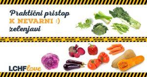Za LCHF neprimerna zelenjava