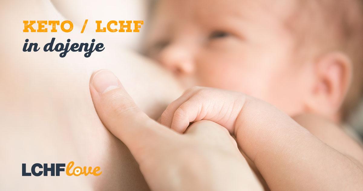 Dojenje in keto / LCHF