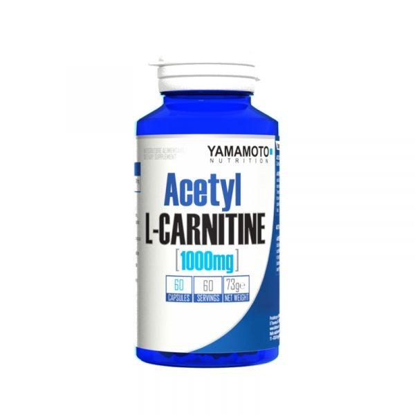 Acetyl L-Carnitine 1000 mg 60 kapsul, Yamamoto
