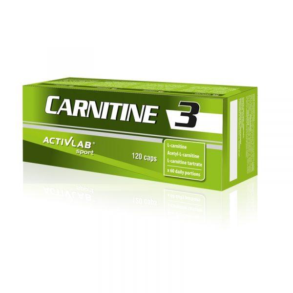 Carnitine 3 120 kapsul, Activlab
