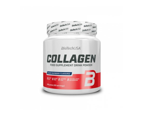 Collagen 300 g, napitek, BioTechUSA