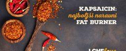 Kapsaicin, naravni fat burner iz čilija