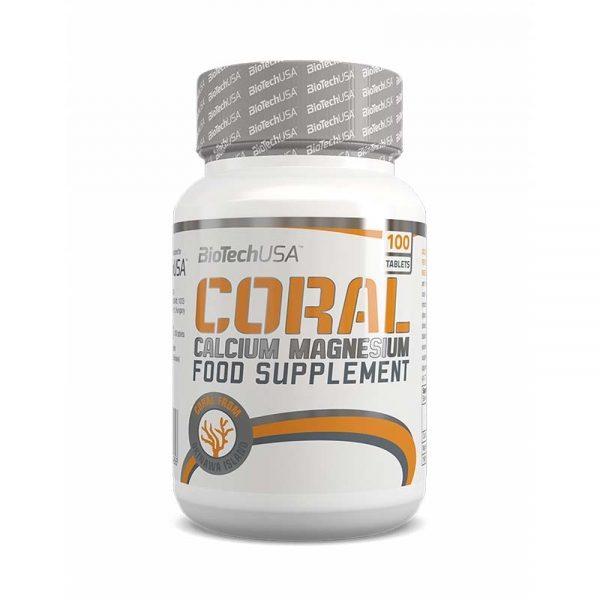 Coral Calcium-Magnesium 100 tablet, BioTechUSA