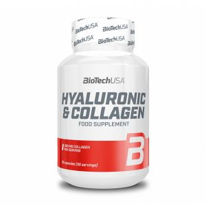 Hyaluronic & Collagen 30 kapsul, BioTechUSA