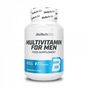 Multivitamin For Men 60 tablet, BioTechUSA