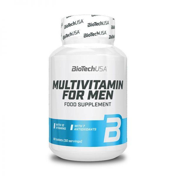 Multivitamin For Men 60 tablet, BioTechUSA