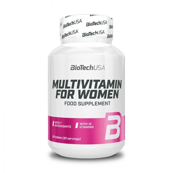 Multivitamin For Women 60 tablet, BioTechUSA