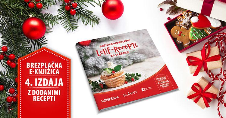 Brezplačna e-knjiga božično-novoletnih receptov