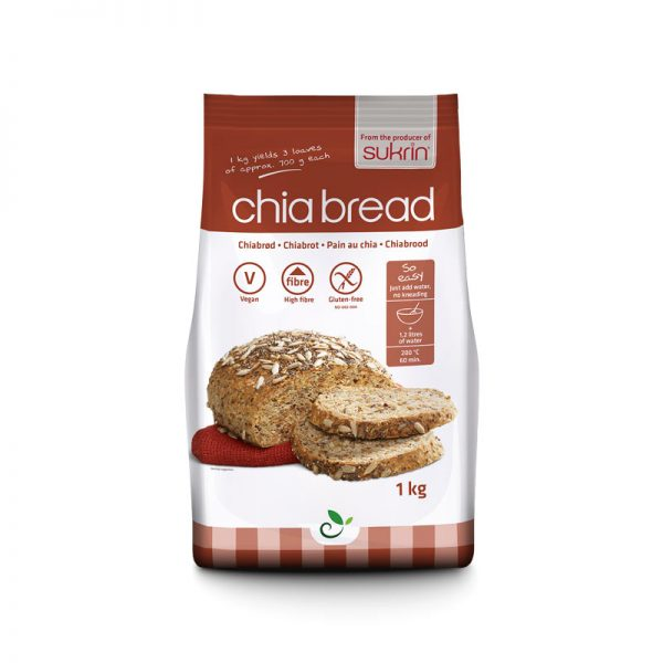 Sukrin Chia Bread Mix 1000 g