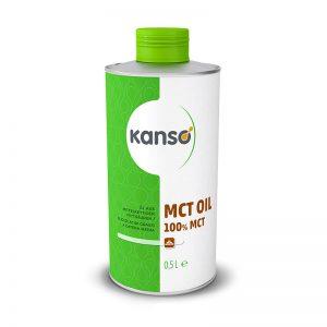 MCT olje 100%, 0,5 l, Kanso
