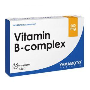 Vitamin B-complex, 30 tablet, Yamamoto