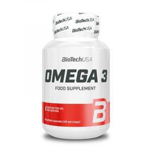 Omega 3 90 kapsul, BioTechUSA