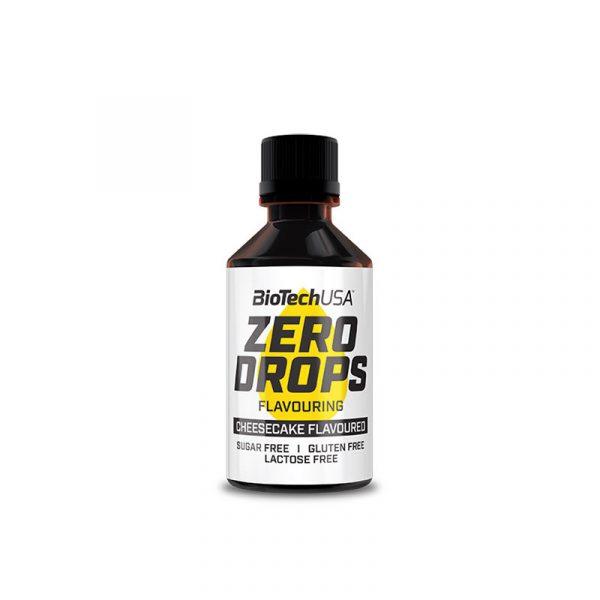 Zero Drops 50 ml - skutna tortica, BioTechUSA