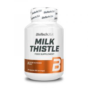 Milk Thistle 60 kapsul (pegasti badelj), BioTechUSA