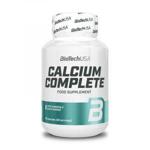 Calcium Complete 90 kapsul, BioTechUSA